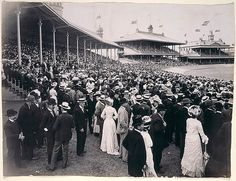 Scenes of the crowd at the Sydney Cricket Ground during the first test between Australia and England which began on 13 December Mitchell Library, State Library of New South Wales Old Photos, Vintage Photos, Georgy Girl, Sydney Cricket Ground, Terra Australis, Aboriginal Culture, Sydney City, Historical Pictures, Sydney Australia
