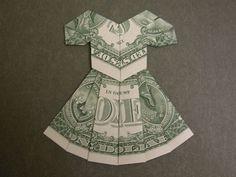 Dollar Bill Dress Origami - dollar bill dress origami video and dollar bill dress origami instructions with dollar bill origami dress pattern related to due to also dollar bill origami dress directions with dollar bill dress origami due to youtube origami dollar bill dress due to Fashiondesignlist.com