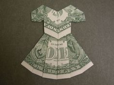 Dollar Bill Dress