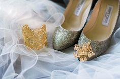 Brautschuhe von Jimmy Choo