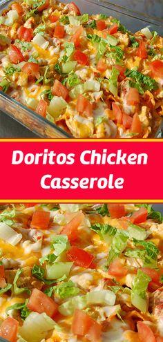 Doritos for dinner? Turkey Recipes, Mexican Food Recipes, New Recipes, Crockpot Recipes, Chicken Recipes, Dinner Recipes, Cooking Recipes, Favorite Recipes, Healthy Recipes