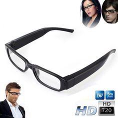 2ba4d5e1e8 Qoo10 - FULL HD Hidden Camera Digital Video Recorder Spy Camera Glasses Cam  Ey.