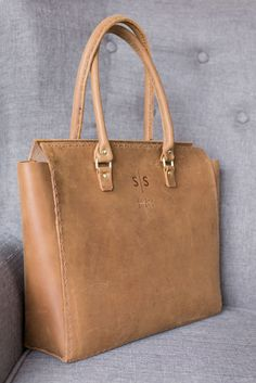 Our Cognac Collection- strong & sophisticated.   Shop her here: www.swish-swank.com Leather Briefcase, Leather Backpack, Leather Bag, Stitching Leather, Hand Stitching, Leather Craft, Luxury Lifestyle, Travel Bags, Leather Handbags