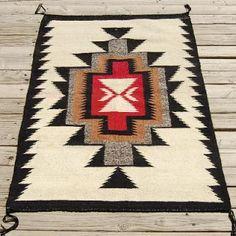 Aztec Native American Blanket, Native American Rugs, Native American Patterns, Native American Design, Navajo Weaving, Navajo Rugs, Weaving Art, Southwest Rugs, Southwest Decor