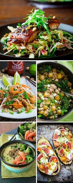 By eating healthy and fresh food which is rich in vitamins you'll look and feel better after just a few weeks! So, think no more... here is a list with 10 amazing ideas you can include in your clean eating plan! #Clean_Eating #Recipes