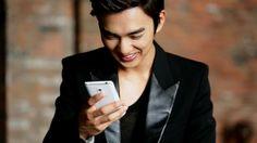 yoo seung ho as Model for Sky VEGA S5 Making Film Screen Shots