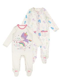 Girls 0-3month Sleepsuits Next George And Nutmeg Few Bobbly Bits On Some Baby & Toddler Clothing Girls' Clothing (newborn-5t)