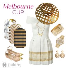 https://flic.kr/p/zWUNMG | Melbourne Cup | Cleopatra, Horses, and Gold Chevron.