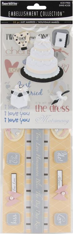 Wedding Top Hat And Shoes Craft Embellishment Wedding Card Topper Stickers