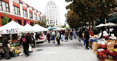 In the middle of downtown Boise every Saturday morning there is held a farmers market. Local farmers and markets come out onto the streets of old Boise and sell/show their products ranging from fruits, veggies, clothing, music and much more!!