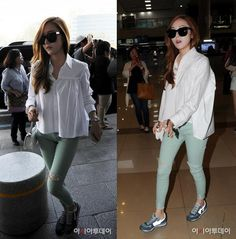 SNSD Jessica at Gimpo Airport