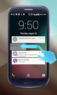 Ability to change lockscreen background.