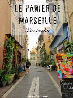 Visite insolite du Panier de Marseille Travel Design, Travel Style, Marseille France, Ville France, Student Travel, Celebration Quotes, Blog Voyage, Discount Travel, City Break