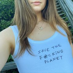 Save The Planet, Green Clean, T Shirts For Women, Instagram, Tops, Fashion, Moda, Fashion Styles, Fashion Illustrations