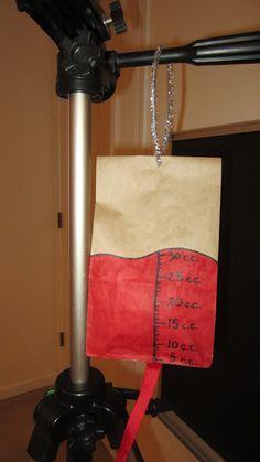 Paper Bag Blood Transfusion From de-tout-et-de-rien-caroline.blogspot.com