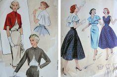 1950s bolero sewing patterns