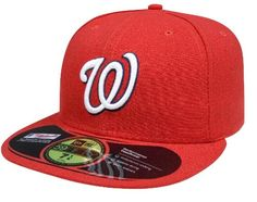 MLB Washington Nationals Game AC On Field 59Fifty Fitted Cap-712