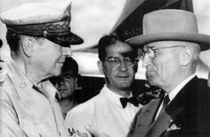 President Harry S Truman fired General Douglas MacArthur from his command of UN forces in Korea On April 11, 1951.   Truman's decision comes after a long dispute between the Commander-in-Chief & his top general in the Korean conflict.