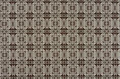 "Kaleidoscope by Commune Colour: Chocolate Content: 100% Linen Width: 52"" 132 CMS Vertical Repeat: 3.2"" 8 CMS Horizontal Repeat: 3.2"" 8 CMS Upholstery: 20,000 rubs"