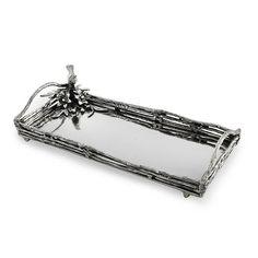 Star Home Designs Handled Rectangular Tray