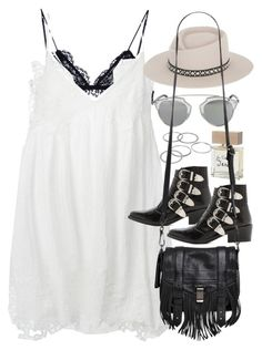 """""""Outfit for a festival in summer"""" by ferned on Polyvore featuring Isabel Marant, Chloé, Toga, Gladys Tamez Millinery, Apt. 9, Christian Dior, Bella Freud and Proenza Schouler"""