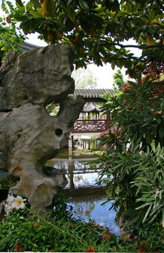 chinese rocks Chinese Rock Garden View on Flickr rocks