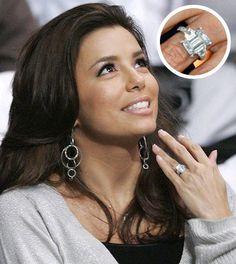 Eva longoria s engagement ring celebrityweddings richandfamous