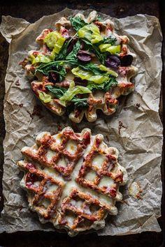 Savory Pizza Waffles | 34 Life-Changing Ways To Eat Waffles