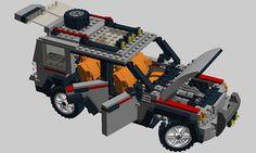 Lego Land Rover