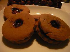 Biscuits à la mélasse et à la gelée de pommes