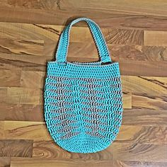This tote has a lovely texture and works up so quickly thanks to the beautiful Bernat Maker Home Dec yarn! This pattern uses approximately half a skein of each color, leaving you with leftover for another project!