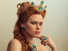 Anna Henrietta, The Witcher 3: wild hunt, model, red head, cosplay wallpaper