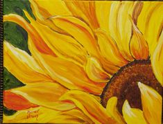 "This is a print of my original Acrylic painting titled "" Good morning Sunshine #2  5 x 7, 8 x 10, 11 x 14, note cards"