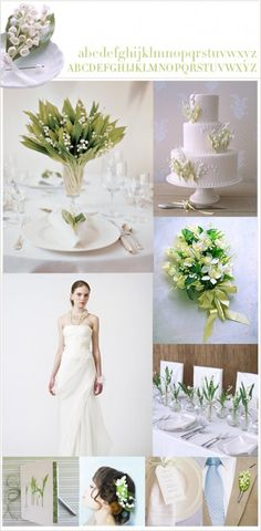 Inspiration: Lily of the Valley - The Bride's Guide : Martha Stewart Weddings