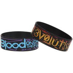 Best Bracelet 2017/ 2018 : Blood On The Dance Floor Evolution Rubber Bracelet 2 Pack | Hot Topic ($12)