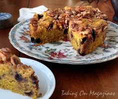 Warm Pumpkin-Blueberry Bread via Taking On Magazines