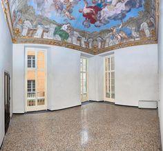 Una delle stanze del Piano Nobile, Genova, Via Lomellini 8, Rollo Patrimonio UNESCO.