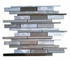 Industrial Fresh Brew Aluminum Mosaic Tile