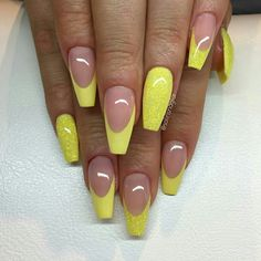 Nice summer color nails