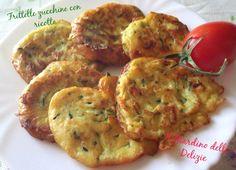 Frittelle con ricotta e zucchine