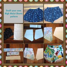 Image result for high waisted shorts pattern free