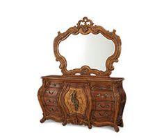 Double Dresser and Mirror|Palais Royale®| Michael Amini Furniture Designs | amini.com