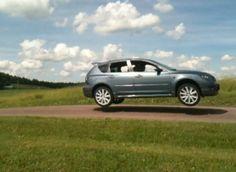 MazdaSpeed3 Takes Flight!!