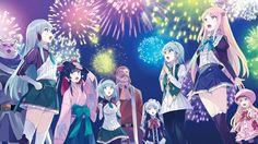 usatsuka eiji isekai wa smartphone to tomo ni. elze silhoueska kokonoe yae leen (isekai wa smartphone to tomo ni. Character Concept, Concept Art, Anime Galaxy, Pokemon Sun, Manga Characters, Anime Artwork, Another World, Light Novel, Manga Girl