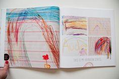 Libro de dibujos de niños