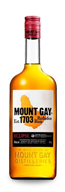 Mount Gay Eclipse Rum - ECLIPSE illustrates the art of Barbadian and Caribbean rum. Created in its luminous, golden amber glow and distinct floral and spicy notes have pleased, ever since, the palates of connoisseurs the world over. Jamaica, Barbados Rum, Golden Rum, Caribbean Rum, Long Drink, Cocktail Glass, Cocktail Shaker, Smoothie Drinks, Smoothies