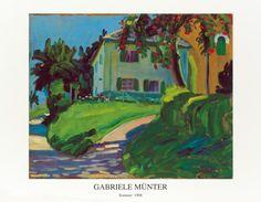 Haus mit Apfelbaum, Gabriele Munter