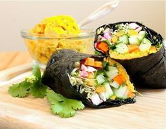Big Fat Vegan Nori Wrap | 23 Low-Carb Lunches That Will Actually Fill You Up