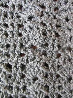 Metsmaakgehaakt: Haakpatroon bellflower infinity scarf
