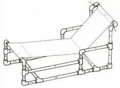 Pvc furniture free plans pinteres for Pvc furniture plans